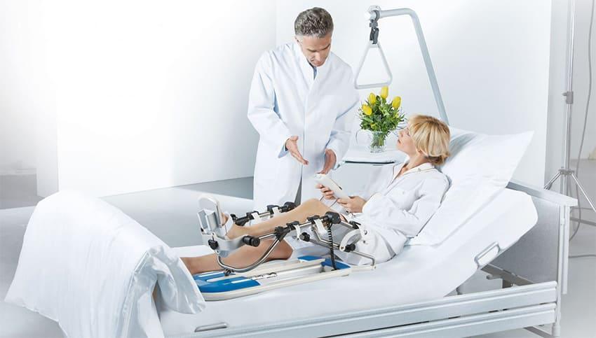 Медицинская реабилитация после переломов